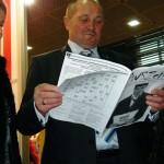Landwirtschaftsminister Sawacki liest PWSZetka 2