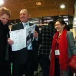 Landwirtschaftsminister Sawacki liest PWSZetka 3