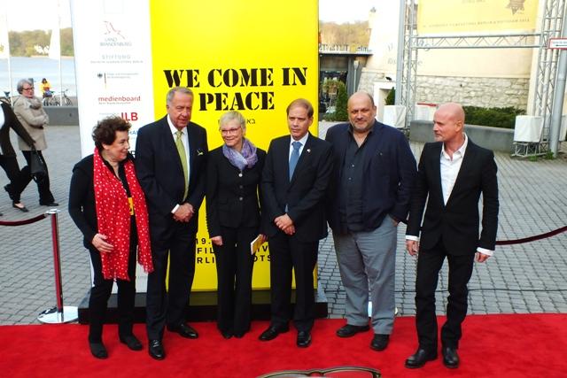 Roter Teppich 19. Jüdisches Filmfest Eröffnung