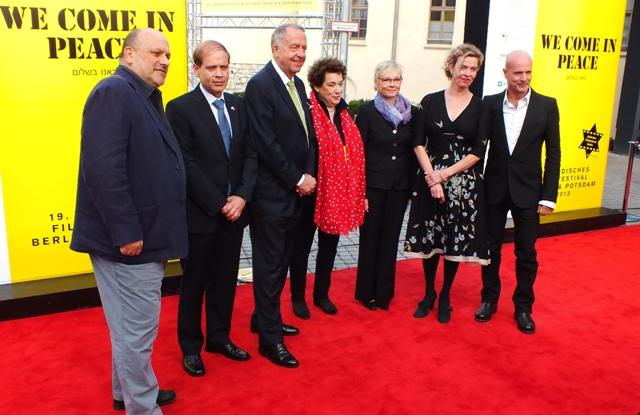 Roter Teppich 2 19. Jüdisches Filmfest Eröffnung