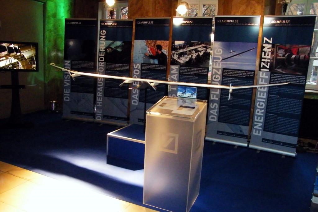 Solarflugzeug-Projekt Modell